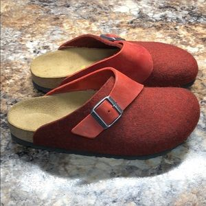 Size 37 Birkenstocks new without tags